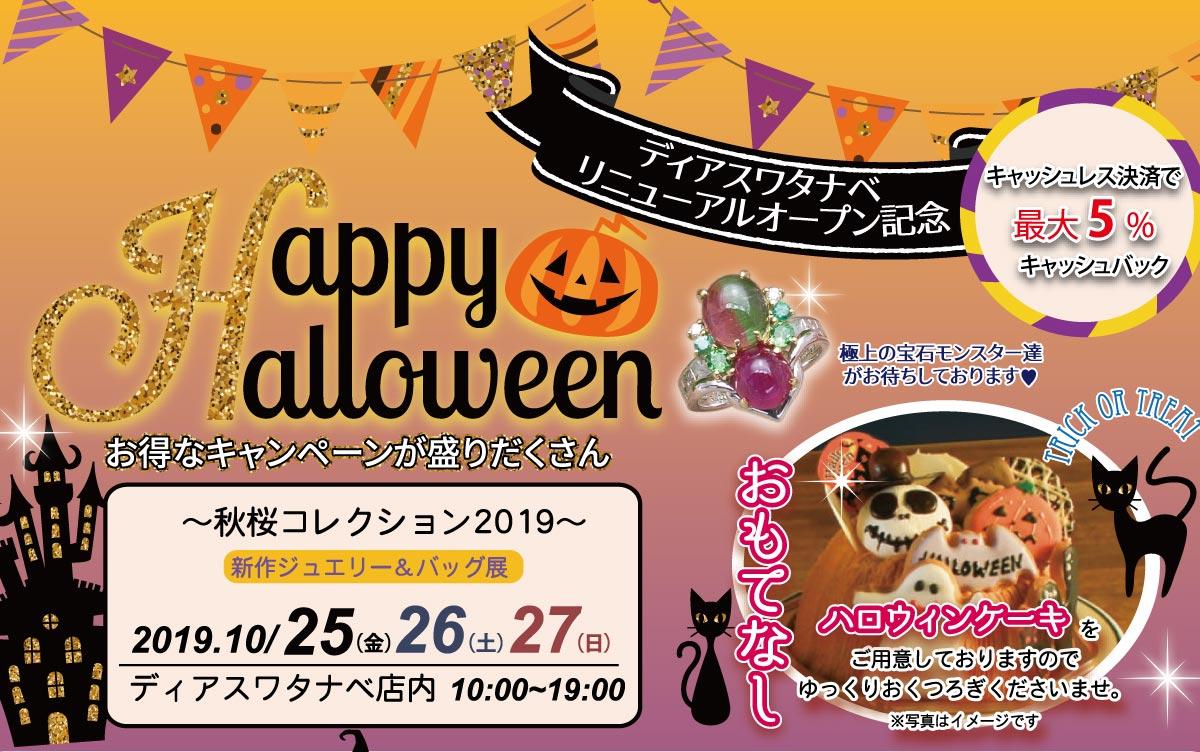 【店内催事】ディアスワタナベ 秋桜コレクション2019開催!